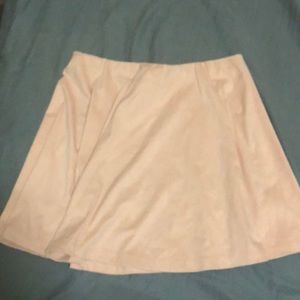 Short pink soft skirt forever 21